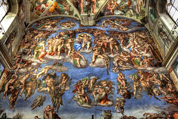 Michelangelo_Jugement_Day1